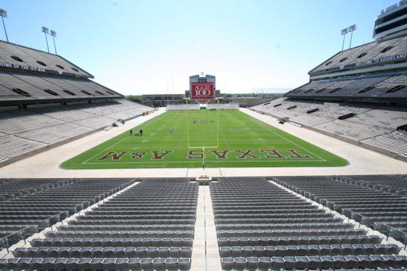 Texas Aggies Football Stadium