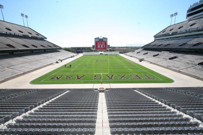 Texas Aggies Football Stadium