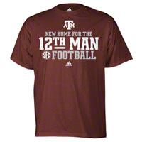 Texas Aggies SEC TShirt